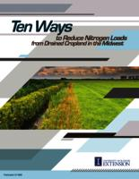 Ten Ways to Reduce Nitrogen Loads from Drained Cropland in the Midwest