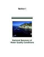 National Summary of Water Quality Conditions(1994)