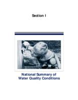 National Summary of Water Quality Conditions(1996)