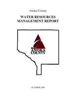 Anoka County Water Resources Management Report