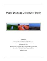 Public Drainage Ditch Buffer Study