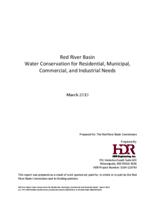 Red River Basin Water Conservation for Residential, Municipal, Commercial, and Industrial Needs