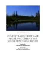 COMFORT LAKE-FOREST LAKE WATERSHED DISTRICT 2010 WATER MONITORING REPORT