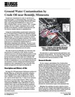 Ground Water Contamination by Crude Oil near Bemidji, Minnesota