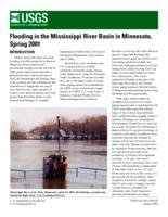 Flooding in the Mississippi River Basin in Minnesota, Spring 2001