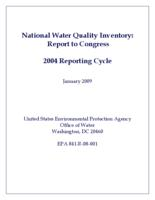 National Water Quality Inventory: Report to Congress (2004 Reporting Cycle)