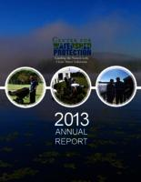 Center For Watershed Protection- 2013 Annual Report