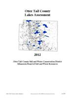 Otter Tail County Lakes Assessment [East Otter Tail Soil and Water Conservation District]