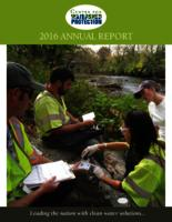 Center For Watershed Protection- 2016 Annual Report