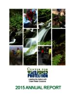 Center For Watershed Protection- 2015 Annual Report