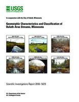 Geomorphic Characteristics and Classification of Duluth-Area Streams, Minnesota