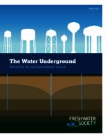 The Water Underground: Reframing the local groundwater picture