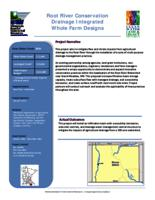 Root River Conservation Drainage Integrated Whole Farm Designs [Mower Soil and Water Conservation District]