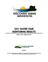 Discovery Farms Minnesota 2011 Water Year Monitoring Results