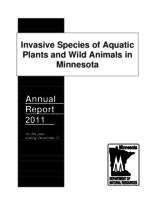Invasive Species of Aquatic Plants and Animals in Minnesota