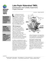 Lake Pepin Watershed TMDL Eutrophication and Turbidity Impairments Project Overview