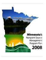 Minnesota's Nonpoint Source Management Program Plan
