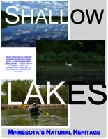 Shallow Lakes: Minnesota's Natural Heritage