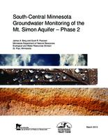 South-Central Minnesota Groundwater Monitoring of the Mt. Simon Aquifer – Phase 2