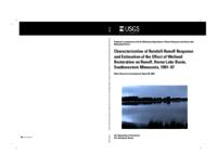 Characterization of Rainfall-Runoff Response and Estimation of the Effect of Wetland Restoration on Runoff, Heron Lake Basin, Southwestern Minnesota, 1991-97
