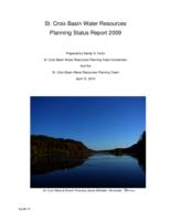 St. Croix Basin Water Resources Planning Status Report 2009