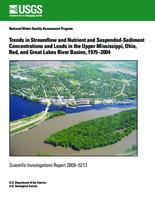 Trends in Streamflow and Nutrient and Suspended-Sediment Concentrations and Loads in the Upper Mississippi, Ohio, Red, and Great Lakes River Basins, 1975–2004