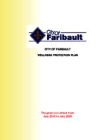 City of Faribault Wellhead Protection Plan