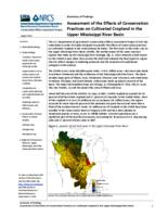 Summary of Findings Assessment of the Effects of Conservation Practices on Cultivated Cropland in the Upper Mississippi River Basin Upper Mississippi River Basin