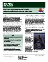 Great Lakes Regional Aquatic Gap Analysis — Preserving Biodiversity in the Great Lakes Basin