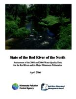 State of the Red River of the North Assessment of the 2003 and 2004 Water Quality Data for the Red River and its Major Minnesota Tributaries
