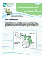 Two-stage Channel Case Study: Crommer Ditch