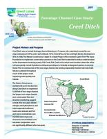 Two-stage Channel Case Study: Creel Ditch