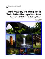 Water Supply Planning in the Twin Cities metropolitan Area [Metropolitan Council]