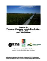 Report on the Forum on Minnesota Irrigated Agriculture