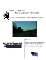 NORTH SHORE MANAGEMENT BOARD Node Definition for Comprehensive Plans