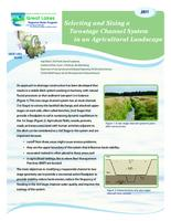 Selecting and Sizing a Two-stage Channel System in an Agricultural Landscape