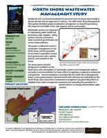 North Shore Wastewater management Study [Minnesota's Lake Superior Coastal Program]