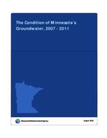 The Condition of Minnesota's Groundwater, 2007-2011