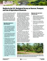Studies by the U.S. Geological Survey on Sources, Transport, and Fate of Agricultural Chemicals