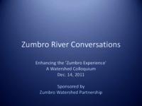 Zumbro River Conversations : Enhancing the 'Zumbro Experience'