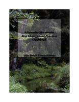 Alternative Stormwater Best Management Practices Guidebook : Valley Branch Watershed District