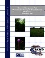 RESOURCE MANAGEMENT PLAN ANOKA COUNTY DITCH 53-62 [Rice Creek Watershed District]