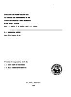 Hydrologic and Water-Quality Data For Streams and Impoundments in The Coteau Des Prairies--Upper Minnesota River Basin, 1979-84