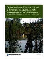 Contamination of Stormwater Pond Sediments by Polycyclic Aromatic Hydrocarbons (PAHs) in Minnesota:The Role of Coal Tar-based Sealcoat Products as a Source of PAHs