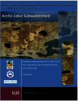 A Subwatershed Assessment, Water Quality Management and BMP Retrofit Analysis for the Arctic Lake Subwatershed