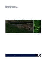 Groundwater Management & Planning Program Final Report