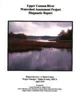Upper Cannon River Watershed Assessment Project Diagnostic Report