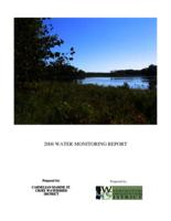 2008 WATER MONITORING REPORT [CARNELIAN MARINE ST. CROIX WATERSHED DISTRICT]