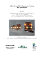 Dakota County Winter Maintenance Training KAP Study Report