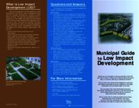 Municipal Guide to Low Impact Development [National Association of Home Builders Research Center]